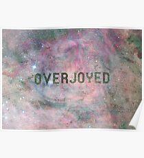 Overjoyed Poster