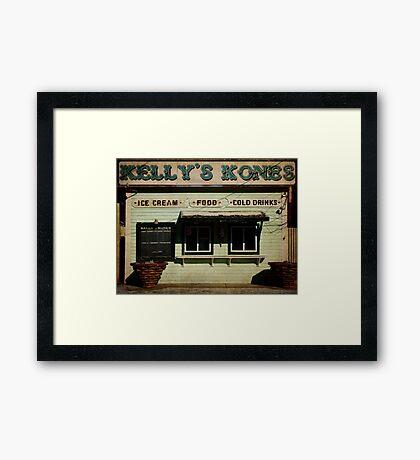 Kellys Kones Jeffersonville Framed Print