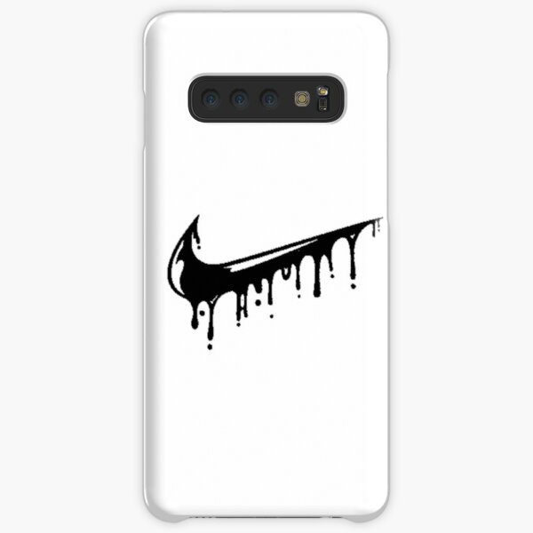 black nike drip Samsung Galaxy Snap Case