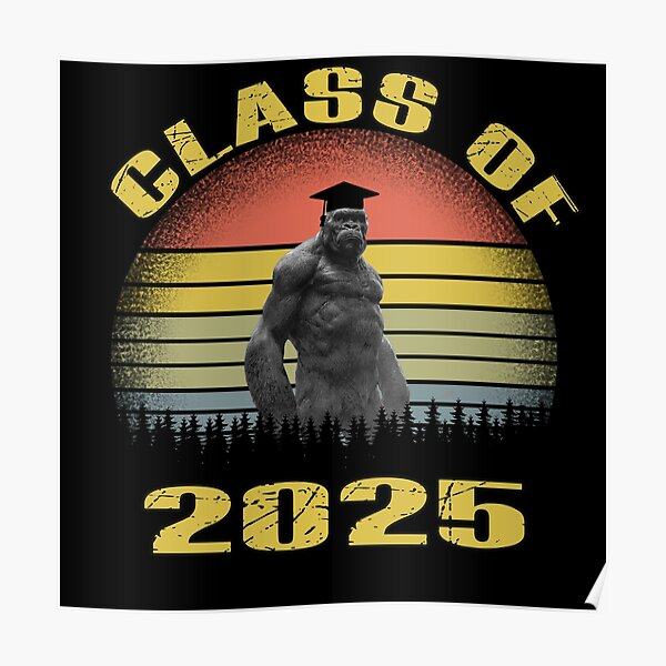class of 2025 funny Poster