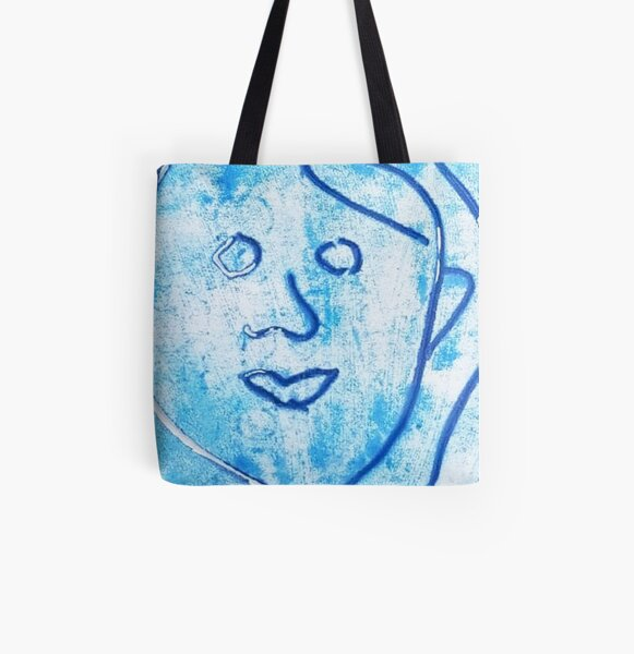 Untitled by Griselda Ramos All Over Print Tote Bag