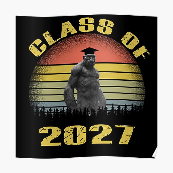 Copy of class of 2027 funny Poster