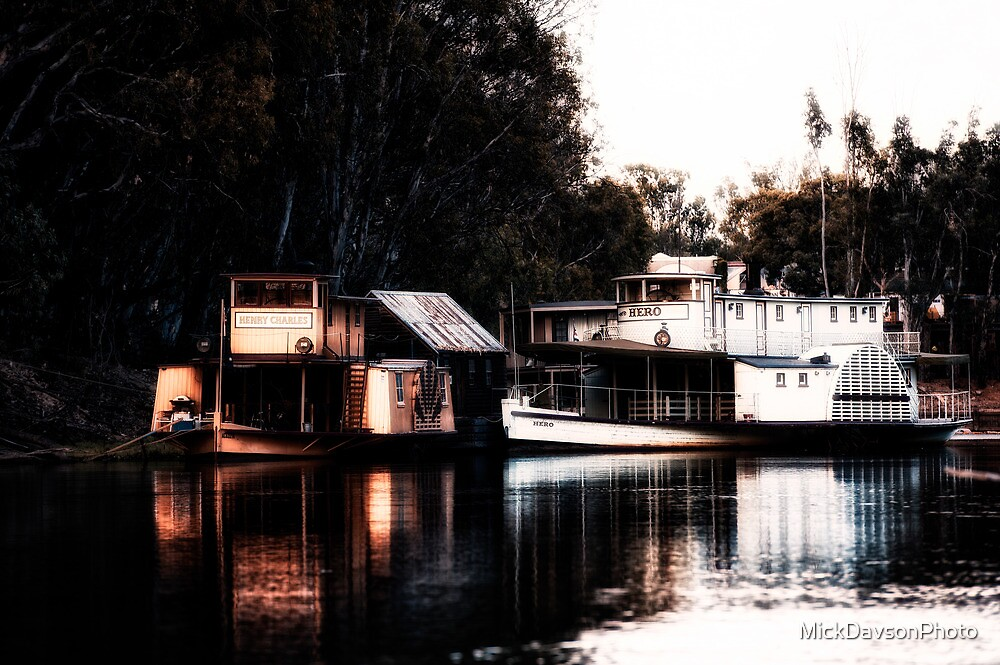 On the Murray by MickDavsonPhoto