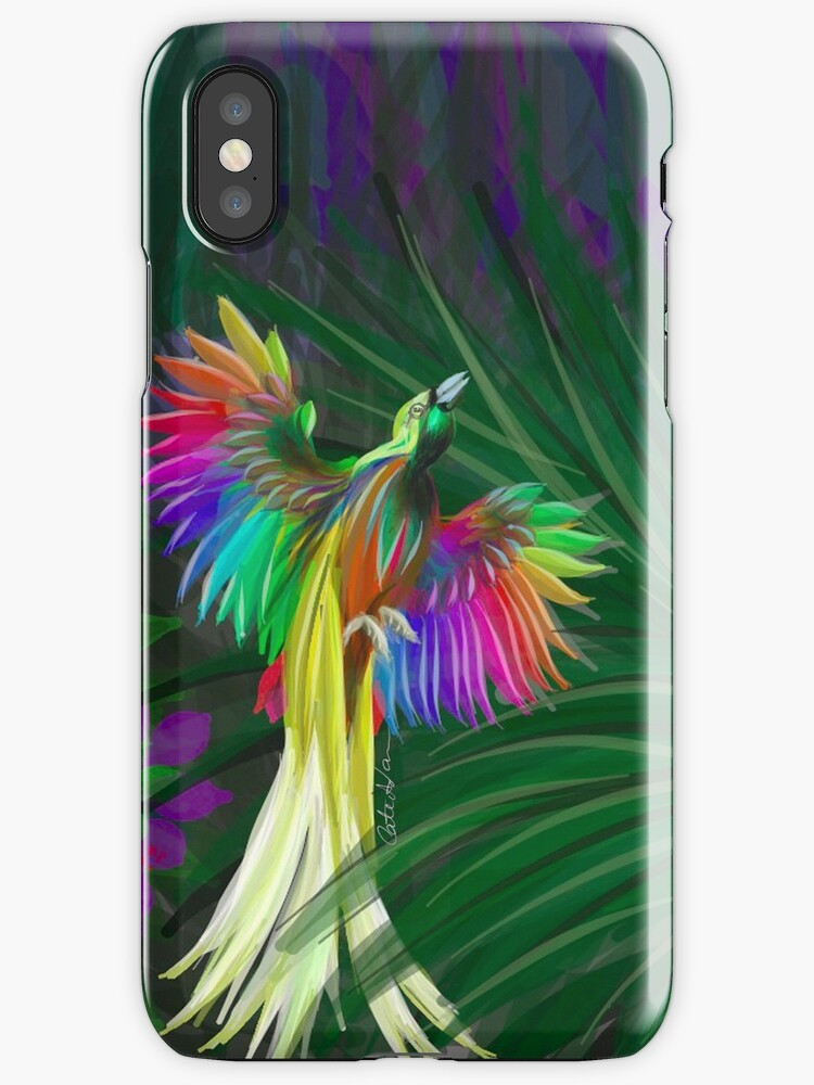 Rainbow Bird of Paradise by Serendipity Projects