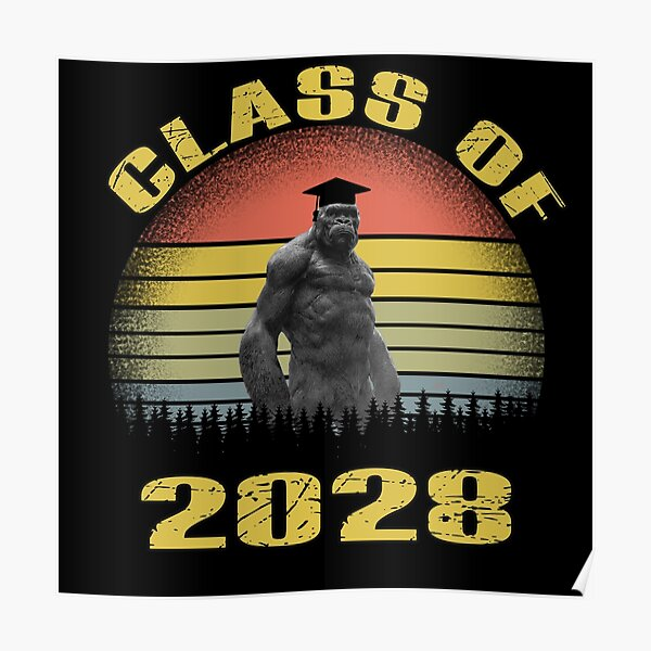 class of 2028 funny Poster