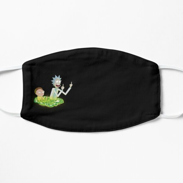Rick And Morty Middle Finger Mask