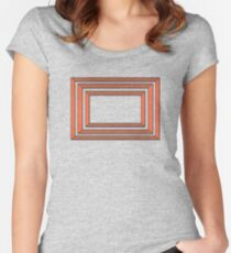 Eric Andre's Backdrop Women's Fitted Scoop T-Shirt
