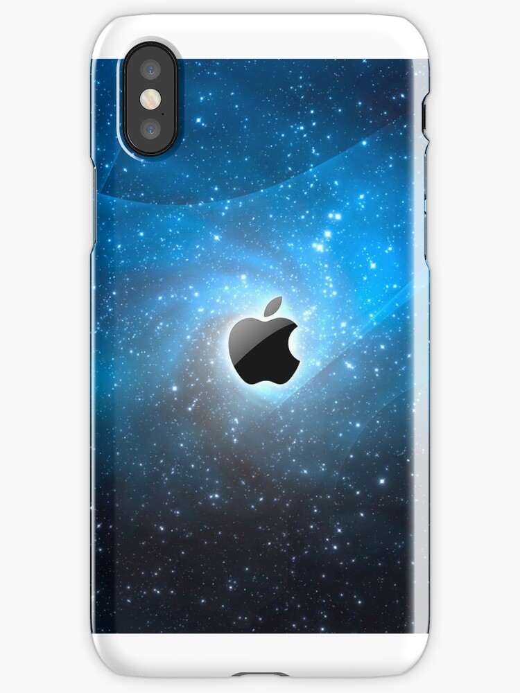 Apple in Space iDevice Case by morganelliott