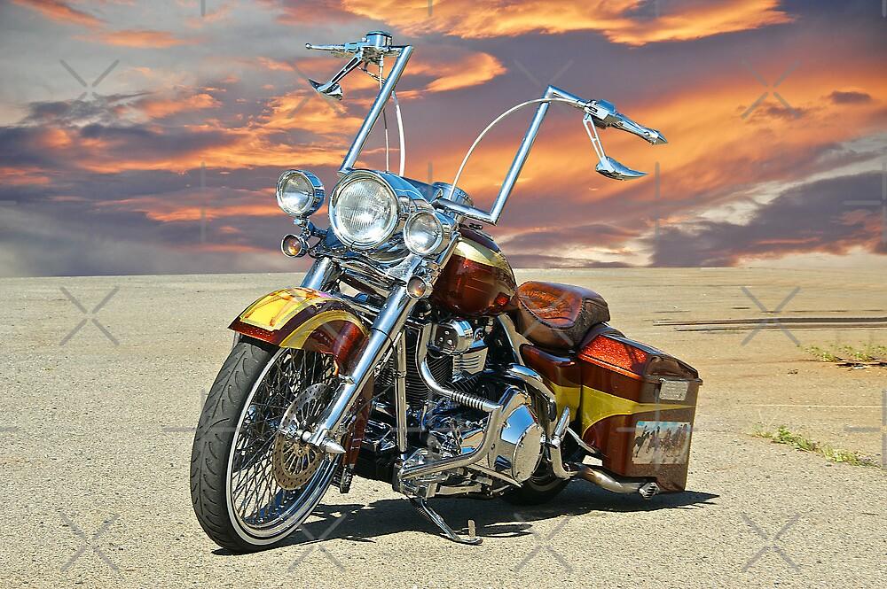 Harley Davidson 'Outlaw' Bagger by DaveKoontz