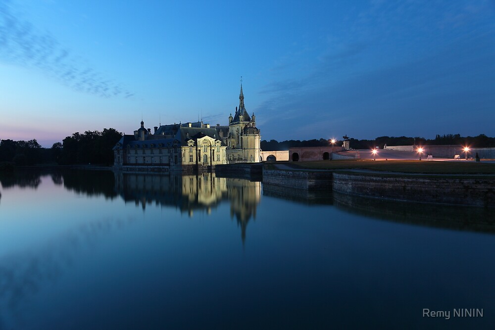 Chantilly, the mirror, Oise, France. by Remy NININ