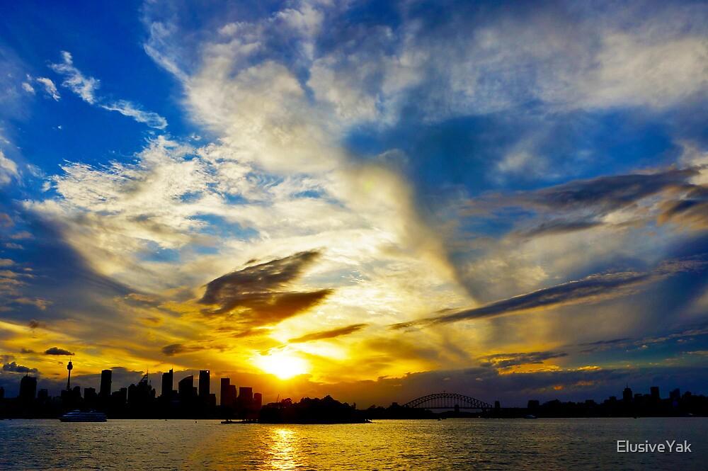 The Sky Over Sydney by ElusiveYak