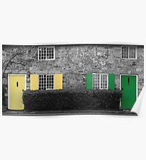 Lulworth Cottages Poster
