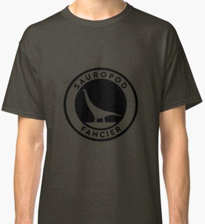 Sauropod Fancier (Black on Light) Classic T-Shirt
