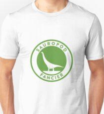 Sauropod Fancier (Green on White) Unisex T-Shirt
