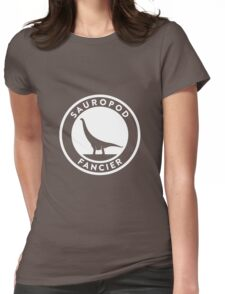 Sauropod Fancier (White on Dark) T-Shirt