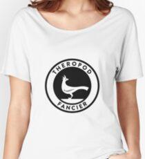 Theropod Fancier (Black on Light) Women's Relaxed Fit T-Shirt