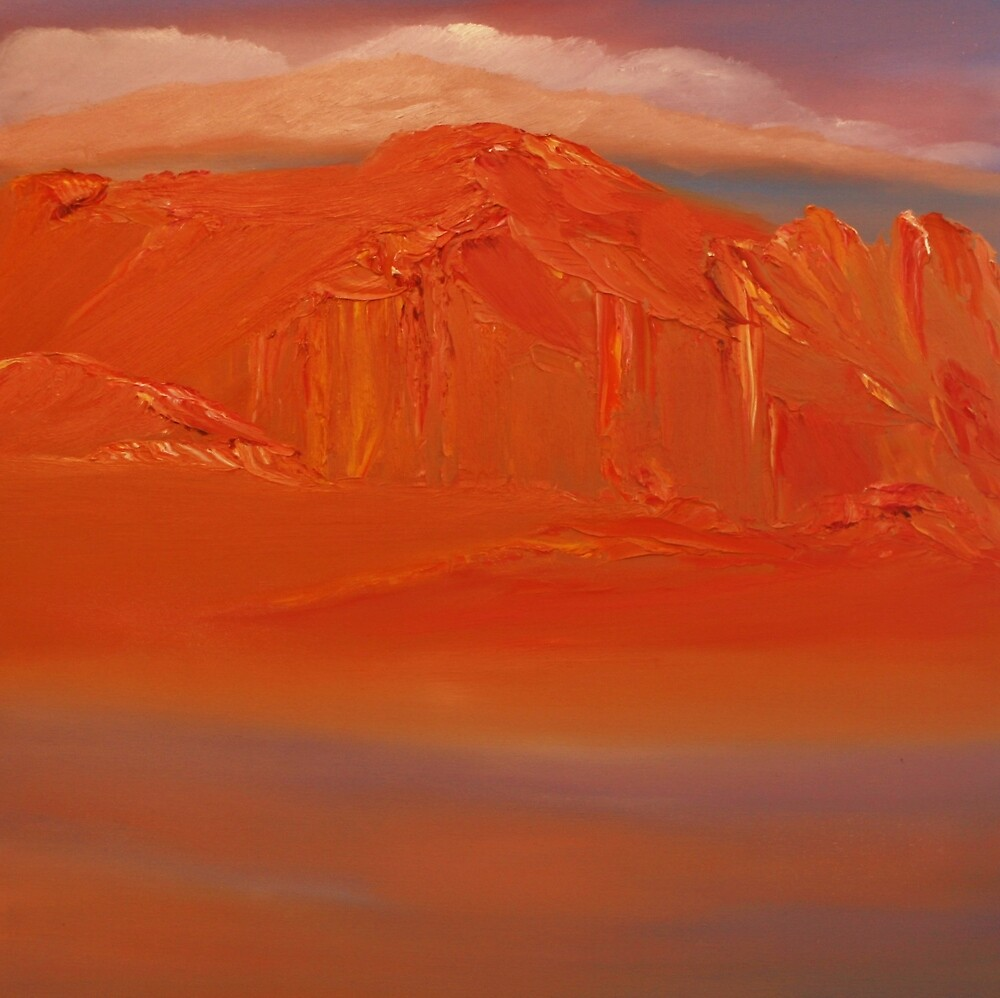 Hills beyond Aqaba by David Snider