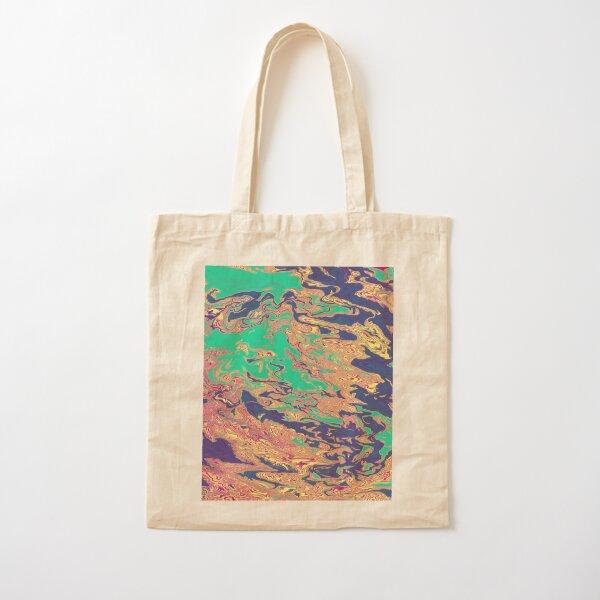 Paisley Mind Trip Cotton Tote Bag