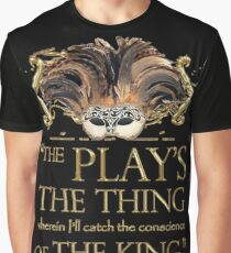 Shakespeare Hamlet Play Quote Graphic T-Shirt