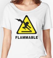 Flammable Joe Women's Relaxed Fit T-Shirt