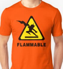 Flammable Joe Unisex T-Shirt