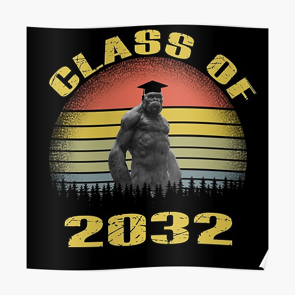 class of 2032 funny Poster