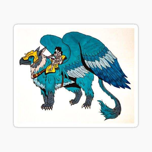Fantasy Griffin  Sticker