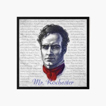 A Portrait of Edward Rochester Art Board Print