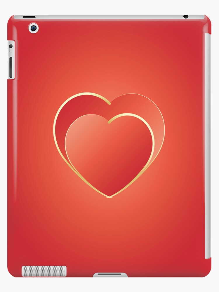 2 hearts iPad by feiermar