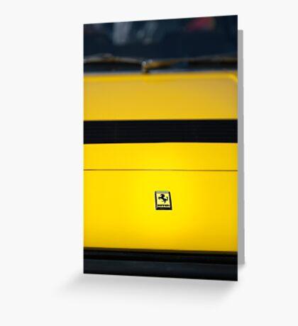 Ferrari Dino 308 GT4 Greeting Card