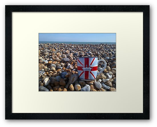 English Peable Beach by WERNER SCHUMANN