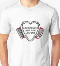 accordions are for lovers 1 T-Shirt