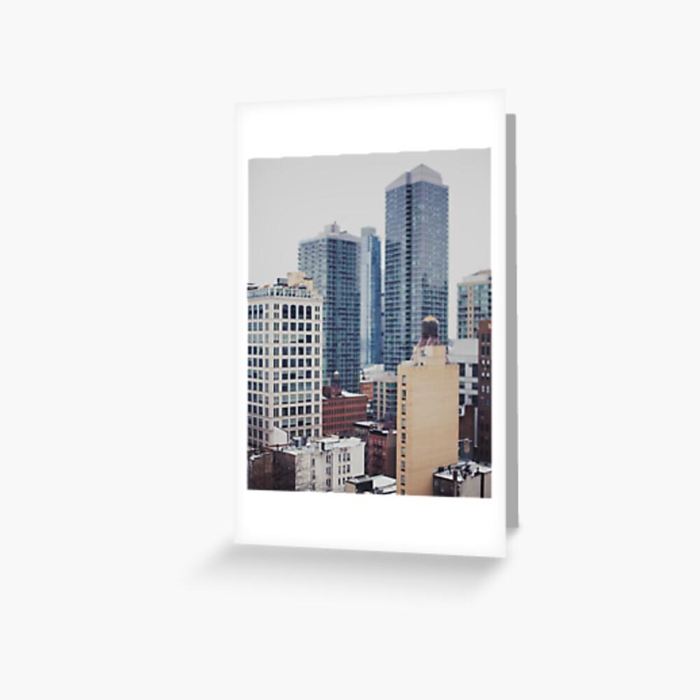 Views of New York City Tarjetas de felicitación