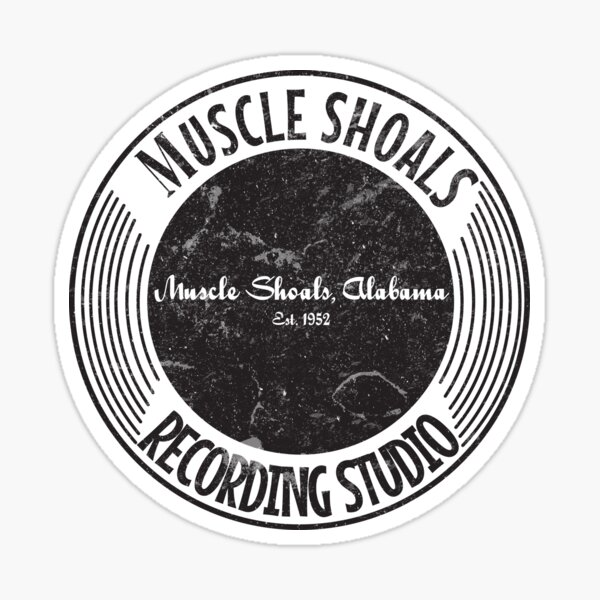 Muscle Shoals Recording Studio 50s Logo (Official) Sticker