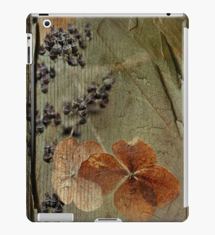 fleurs d'hier iPad Case/Skin