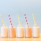 milk bottles.. by Michelle McMahon