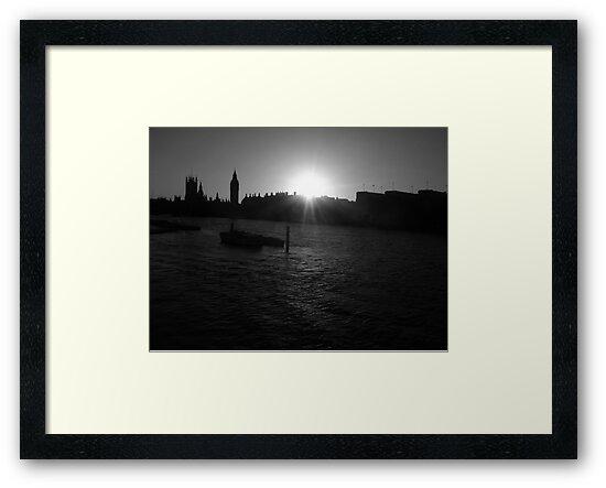 London Skyline by WERNER SCHUMANN