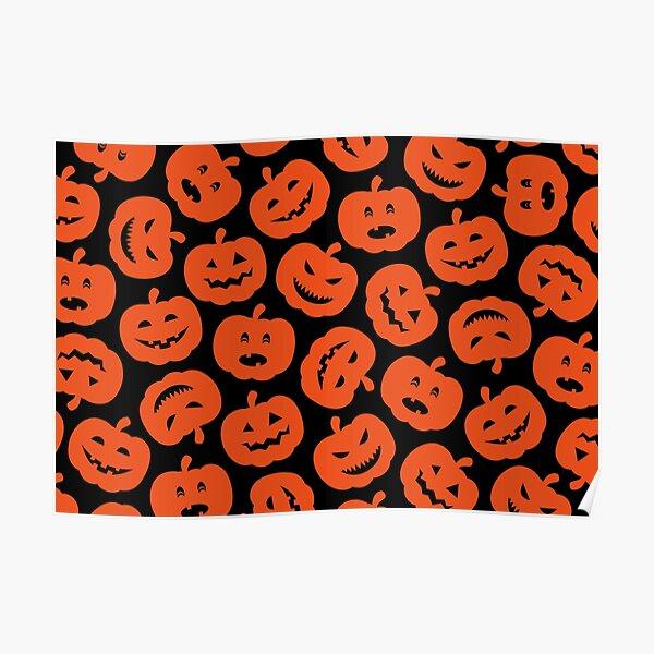 Funny Pumpkins Poster