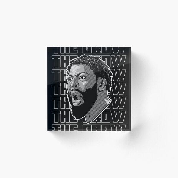 Anthony Davis, The brow Acrylic Block
