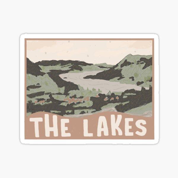 lake district  Sticker