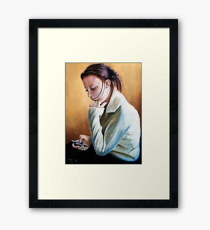 Lesley Framed Print