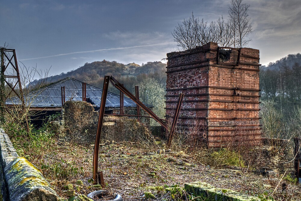 The Old Ironworks by Jamie  Green