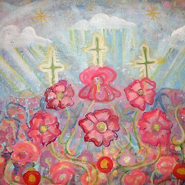 Glowing Crosses by JulianaLachance