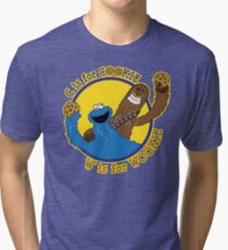 Cookie & Wookie Tri-blend T-Shirt