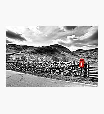 The Little Red Post Box Photographic Print