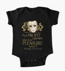 Shakespeare The Taming of the Shrew Pleasure Quote One Piece - Short Sleeve