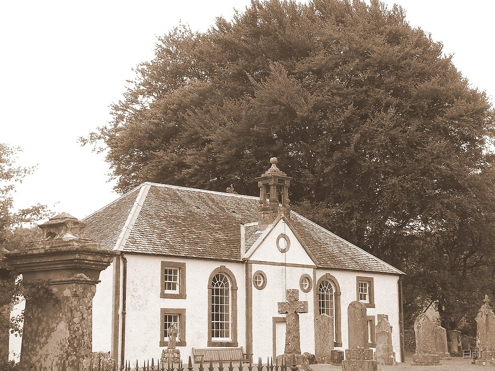 Kilmodan Church, Scotland by ElsT