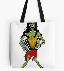 Undead Squeezebox Chanteuse! Tote Bag
