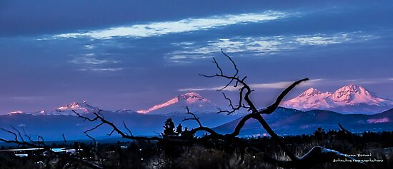 Three Sisters, Oregon- Sunset by DianaBozartt