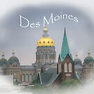 Des Moines Capitol by designingjudy
